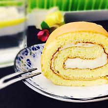 浓浓芝香蛋糕卷+#百吉福芝士力量#