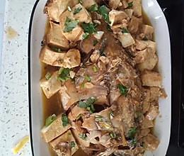 家庭版黄花鱼炖豆腐的做法