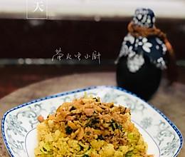 #我们约饭吧#菜花炒肉末的做法