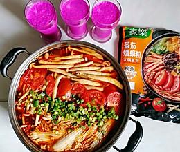 螺蛳粉火锅#饕餮美味视觉盛宴#的做法