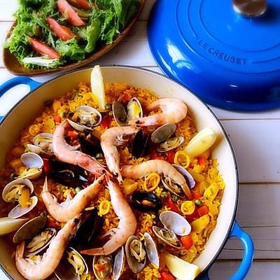 西班牙海鲜饭(PAELLA)