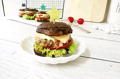 迷你香菇汉堡~营养早餐不二选择