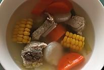 五彩缤纷小排汤的做法