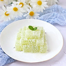 夏日小甜品!清爽香甜的黄瓜凉糕