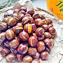 秋冬美食——糖炒栗子