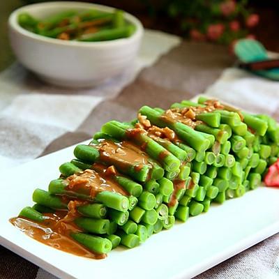 麻酱拌豇豆角