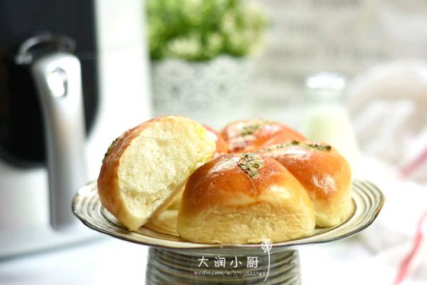 空气炸锅版咸葱面包的做法