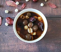 莲子桂圆红枣汤的做法