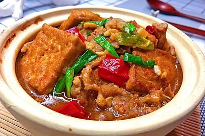 超美味的简单豆腐煲