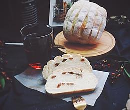 提子哈斯面包的做法