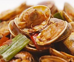 辣炒花蛤 | 魔力美食的做法
