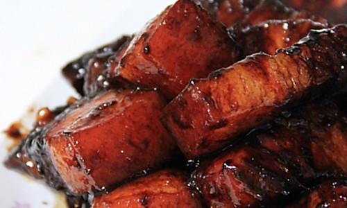 减肥红烧肉的做法