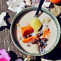 秋季甜蜜滋补甜汤~红豆芋头甜薯汤的做法图解6