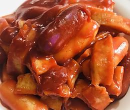 辣炒芝士年糕➕鱼饼的做法