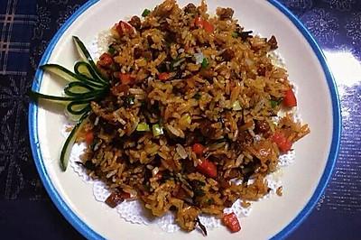 橄欖菜炒飯