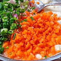 快速香且营养早餐,胡萝卜煎饼的做法图解9