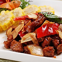黑椒牛肉粒