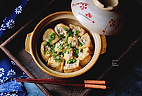 砂锅油豆腐酿肉的做法