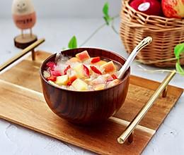 #夏日撩人滋味#苹果银耳枸杞汤的做法