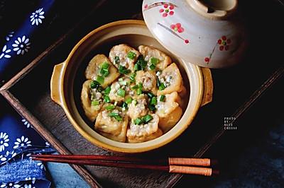砂锅油豆腐酿肉