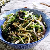 素食主义——菠菜拌豆皮的做法图解4