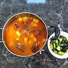 #孕妇营养餐#番茄牛骨汤