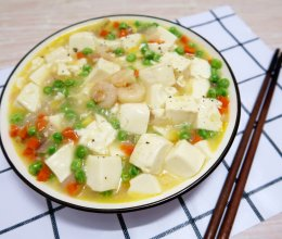 超嫩虾仁豆腐#父亲节,给老爸做道菜#的做法
