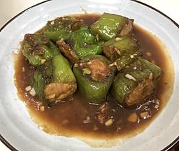 #我要上首焦#青椒酿肉的做法
