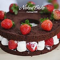 新红与黛绿-草莓巧克力裸蛋糕的做法图解11