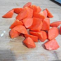胡萝卜配西兰花的做法图解2