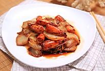 虾头炒白菜-迷迭香的做法