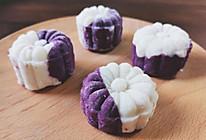 零失败❗️山药紫薯糕的做法