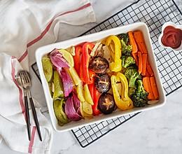 香烤时蔬全家福的做法