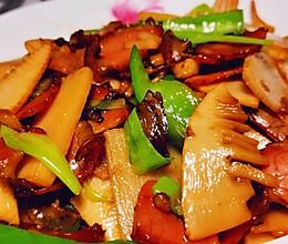 竹笋炒腊肉(家庭版)的做法