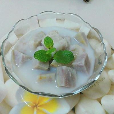 泰式椰汁香芋西米露