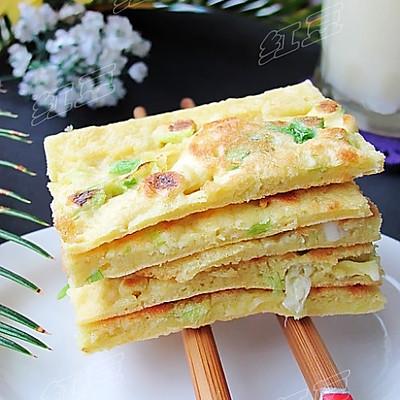 营养早餐---玉米鸡蛋饼