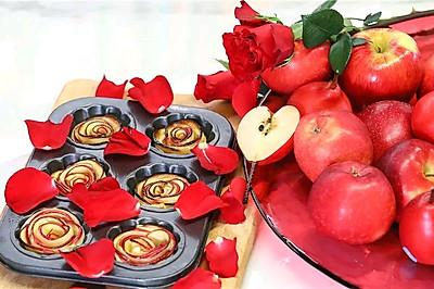 【玫瑰苹果派】超简单