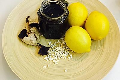 清肺止咳檸檬膏。