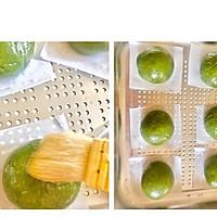#餐桌上的春日限定#㊙️没有澄粉‼️也可以做的网红豆沙青团的做法图解7
