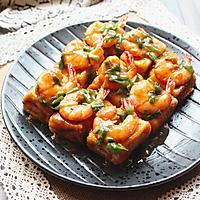 脆皮豆腐烩大虾#舌尖上的外婆香#的做法图解8