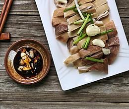 带你食粤西特色菜----白灼猪肚的做法