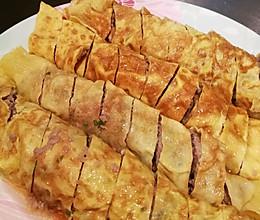 蛋卷肉馅的做法