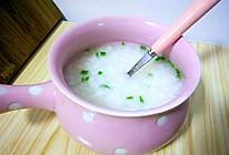 葱香猪油粥的做法