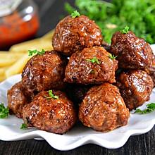 一口气吃十个的正宗意大利肉丸(非油炸)