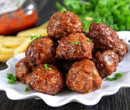 一口气吃十个的正宗意大利肉丸(非油炸)的做法
