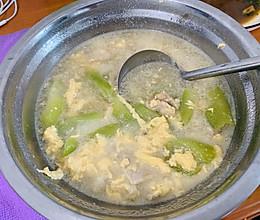 丝瓜瘦肉蛋汤的做法
