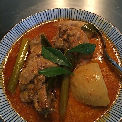 Kari Ayam--正宗新加坡咖喱鸡