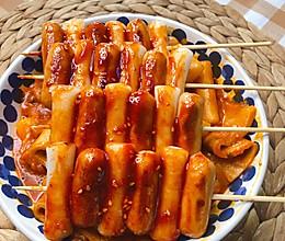 芝士炒年糕#美食艺术家##美食vlogger#的做法