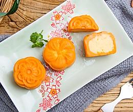 免烤红薯奶黄月饼的做法