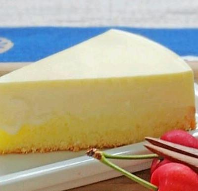 免烤箱酸奶乳酪蛋糕(有水豆腐一般的绝美口感)